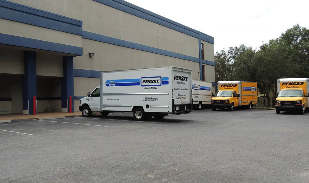 Truck rental at Compass Self Storage in Tampa