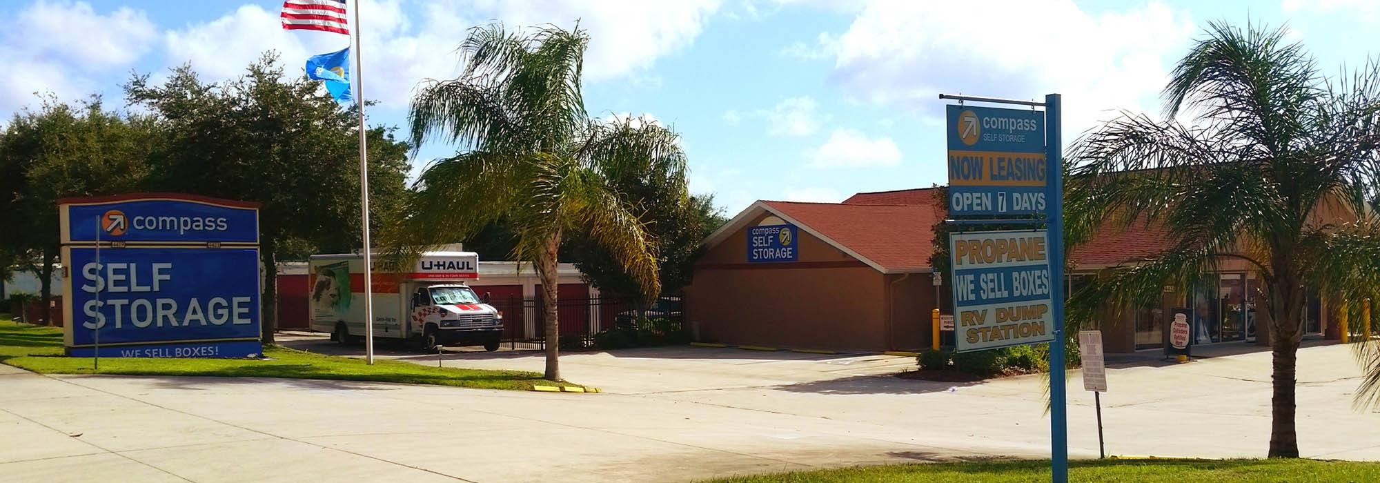 Self storage in New Port Richey FL