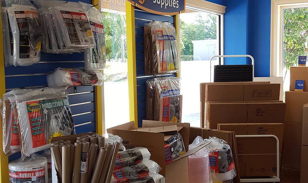 Moving Supplies at Compass Self Storage in New Port Richey, FL