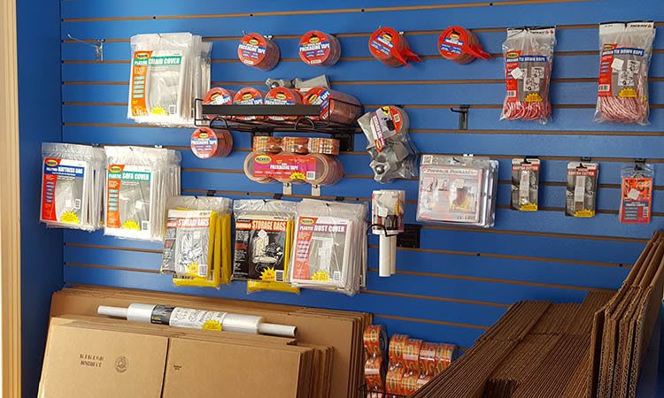 Storage features offered at Compass Self Storage in New Port Richey