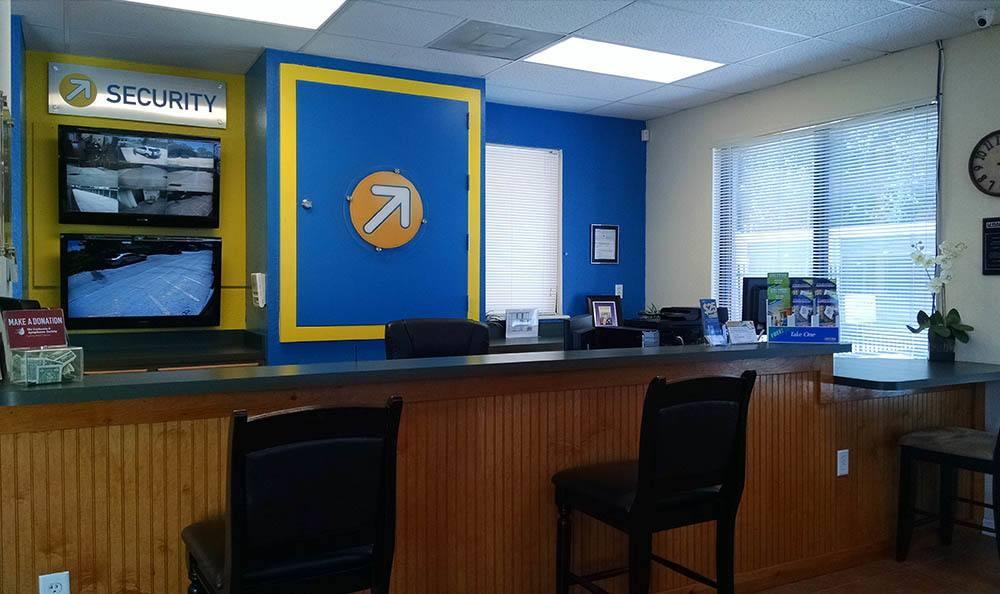 Office interior at Compass Self Storage in Orlando, FL