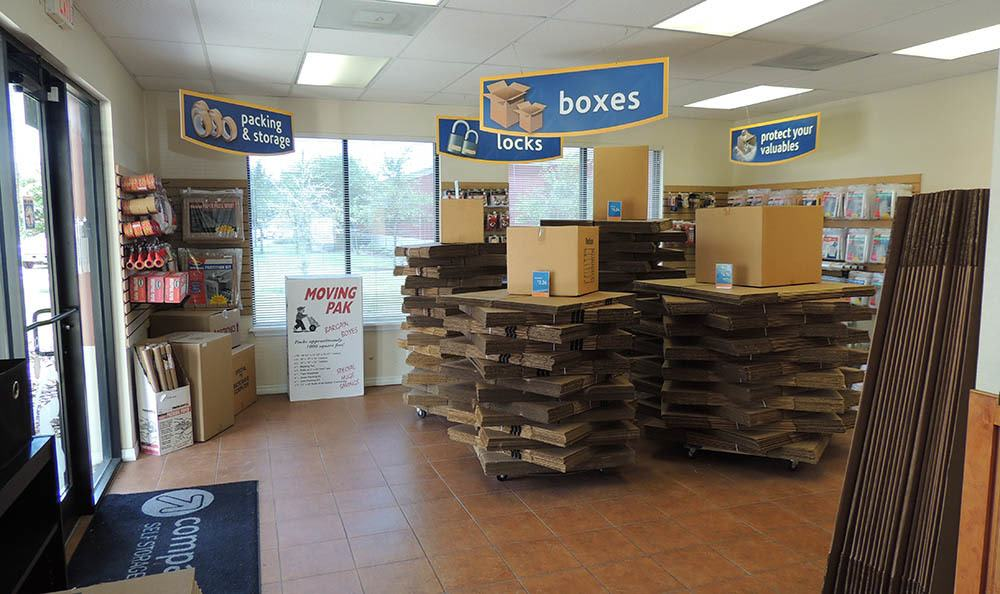 Moving Supplies at Compass Self Storage in Orlando, FL