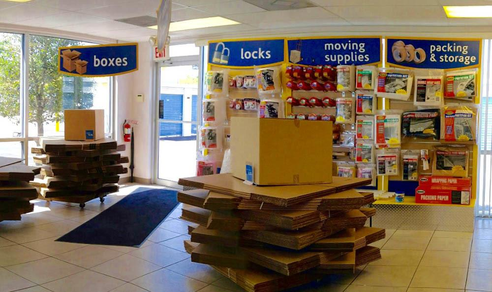 Boxes And Moving Supplies at Compass Self Storage in Oviedo, FL