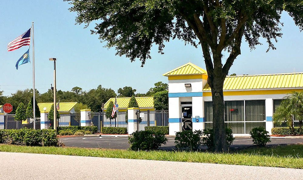 Exterior Of Leasing Office at Compass Self Storage in Oviedo, FL