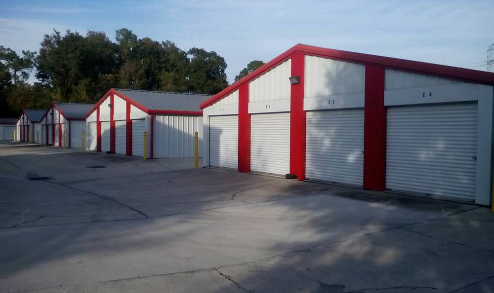 Drive Up Storage Units at Compass Self Storage in Jacksonville, FL