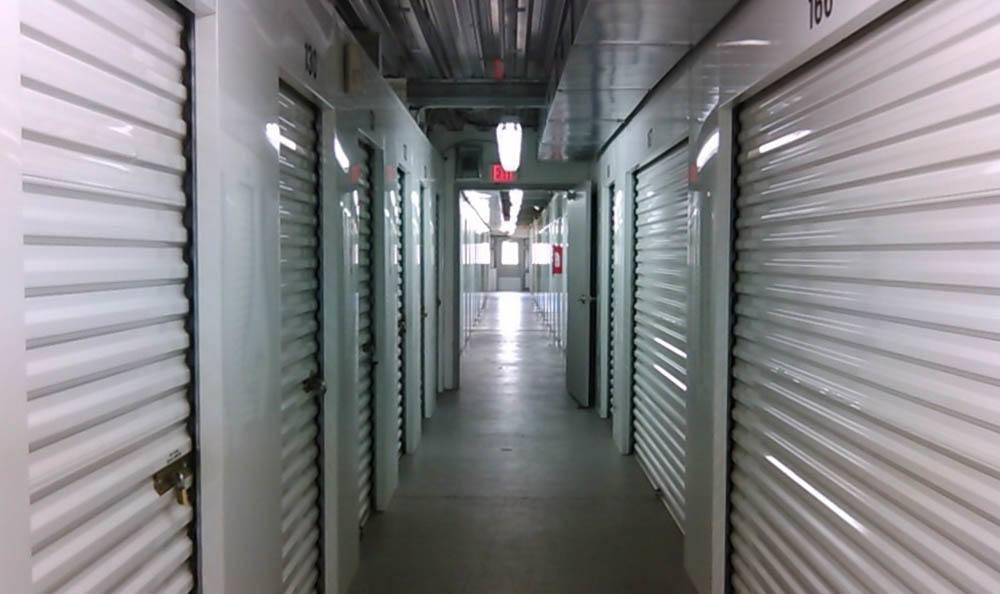 Interior Storage Units at Compass Self Storage in Jacksonville, FL