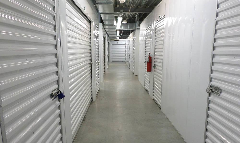 Interior Storage Units at Compass Self Storage in Fernandina Beach, FL