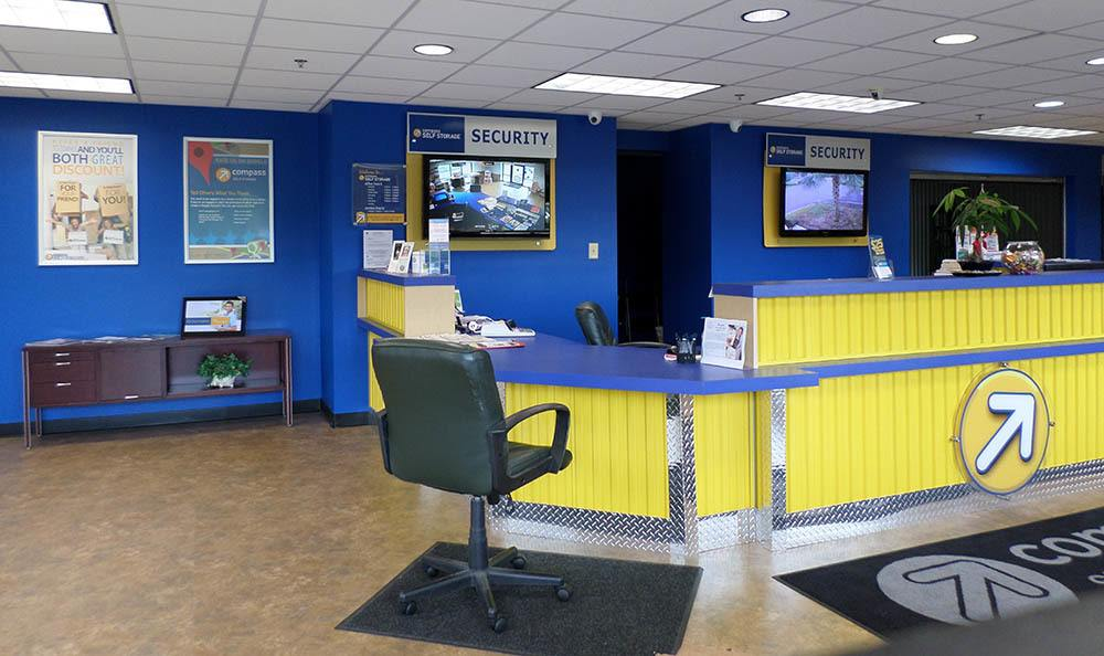 Leasing Office at Compass Self Storage in Fernandina Beach, FL