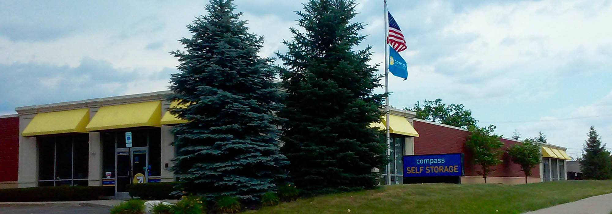 Self storage in Novi MI