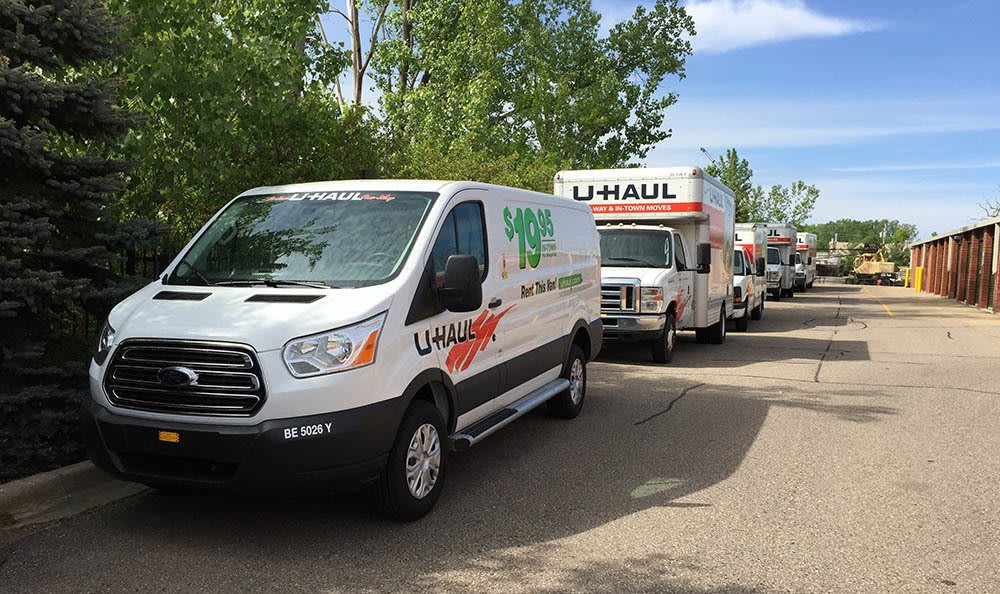 U haul rental at Compass Self Storage in Novi, MI