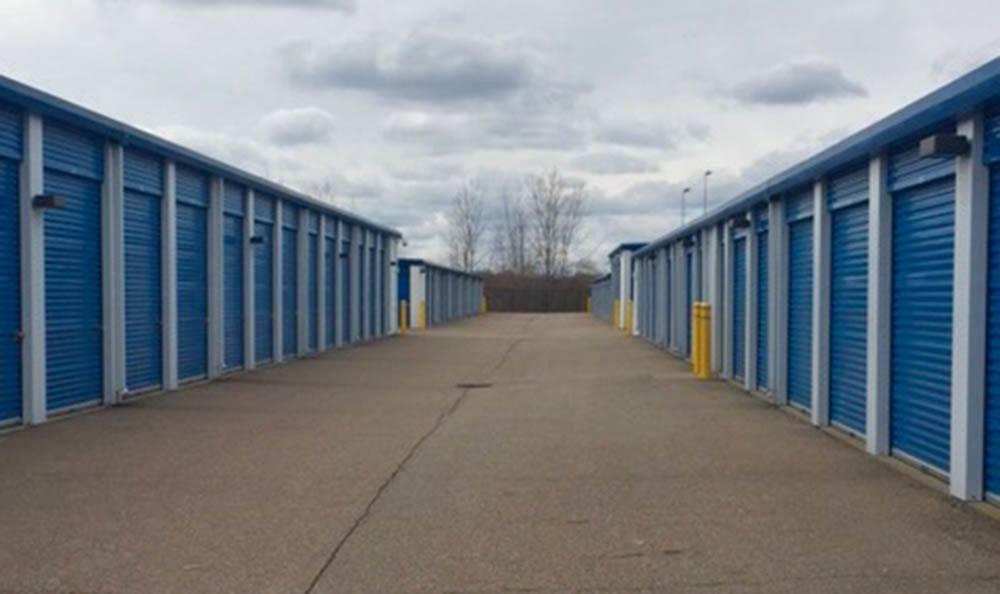 Exterior Of Storage Units at Compass Self Storage in Shelby Township, MI