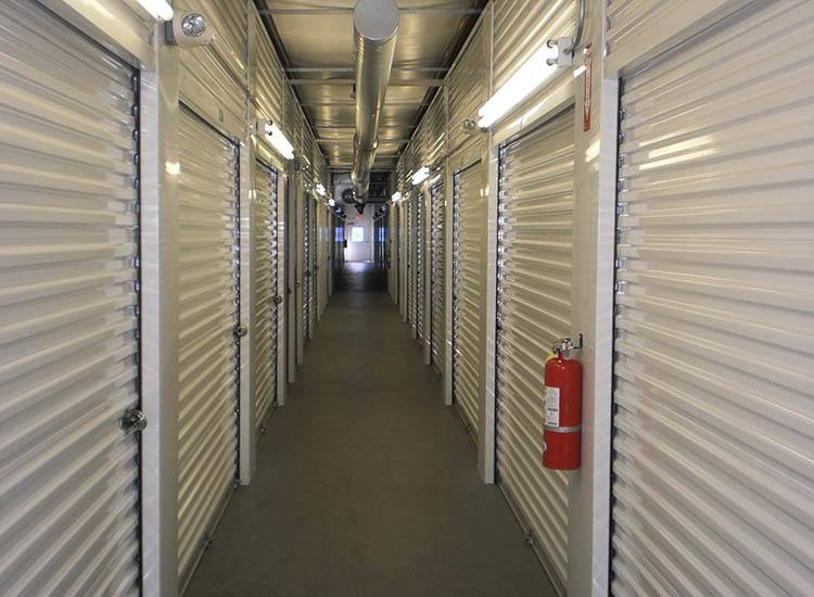 Storage features offered at Compass Self Storage in Fraser