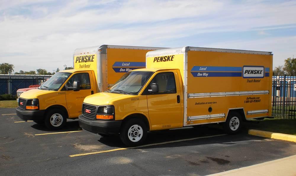 Moving Truck Rental at Compass Self Storage in Flat Rock, MI