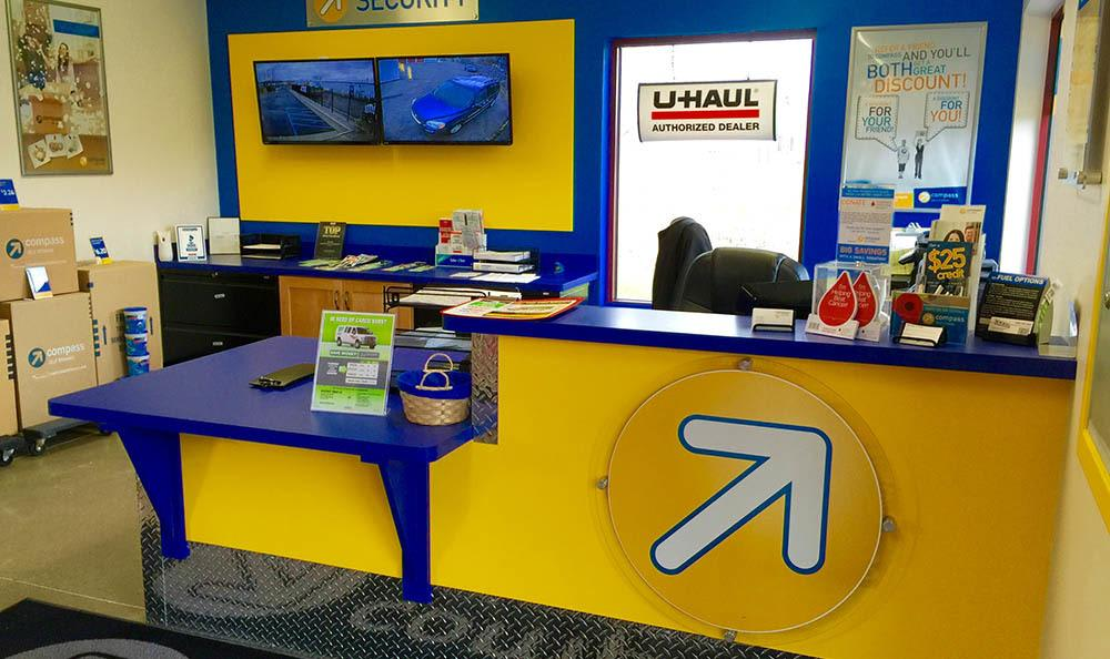 Leasing Office at Compass Self Storage in East Lansing, MI