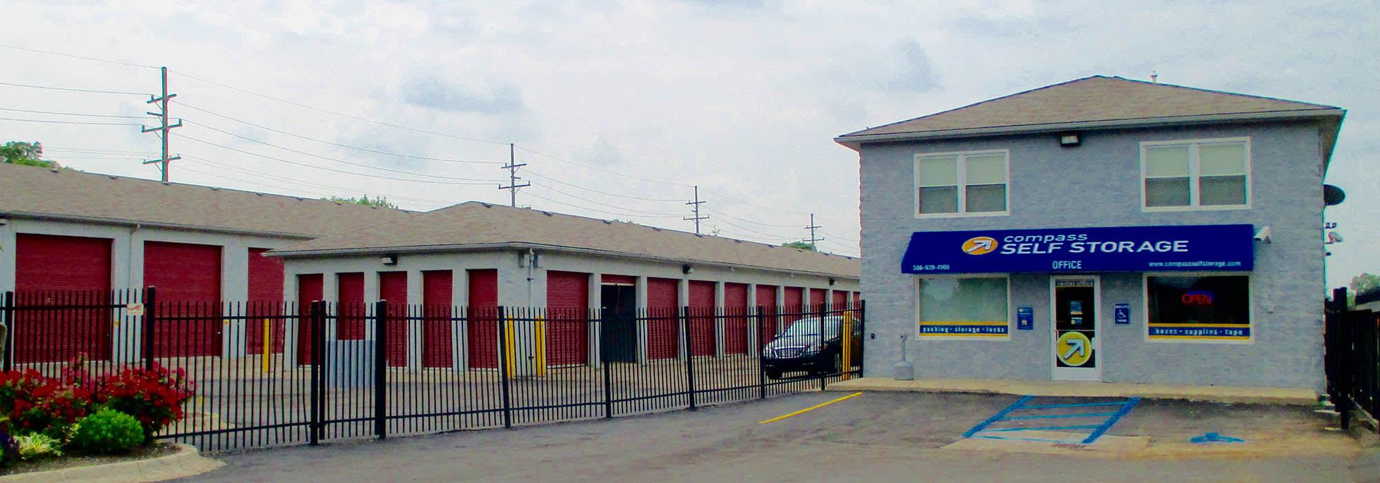 Self storage in Warren MI