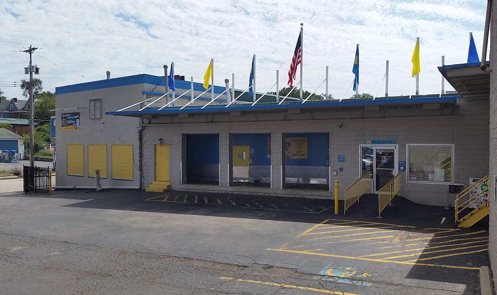 Front Of Compass Self Storage
