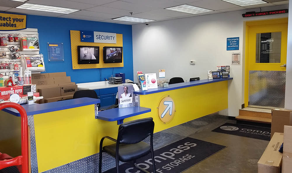 Leasing Office at Compass Self Storage in Pittsburgh, PA