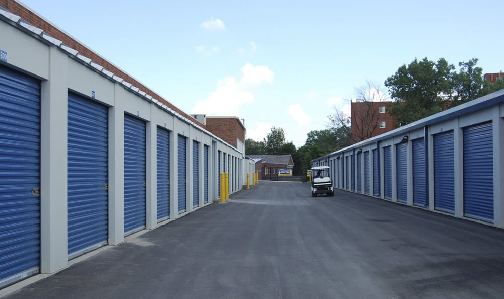 Outdoor Units at Compass Self Storage in Taunton, MA