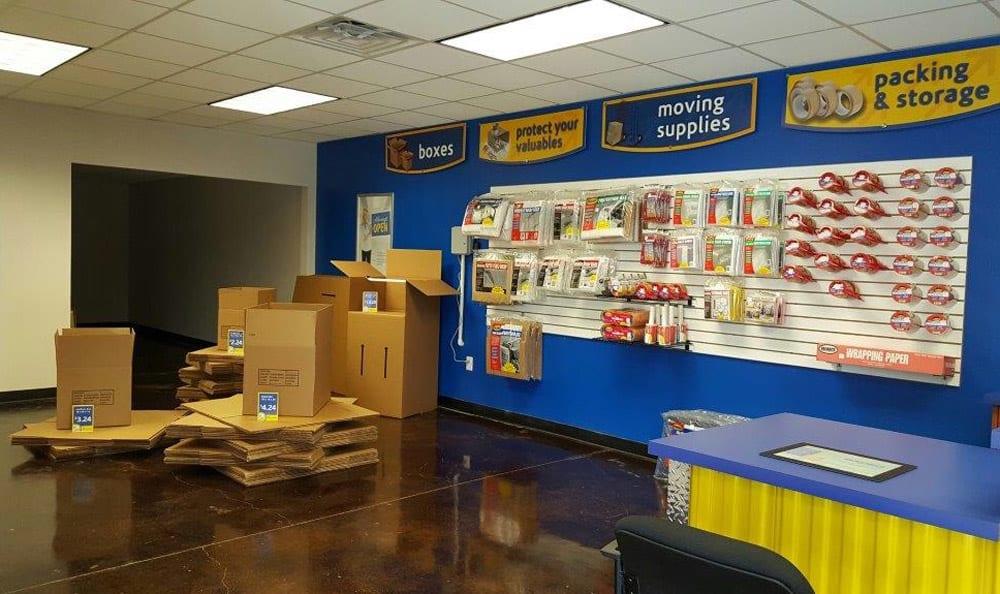 Storage Supplies at Compass Self Storage in Taunton, MA