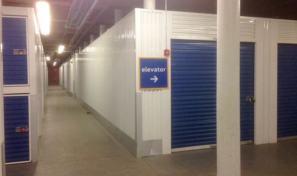 Storage features offered at Compass Self Storage in Providence