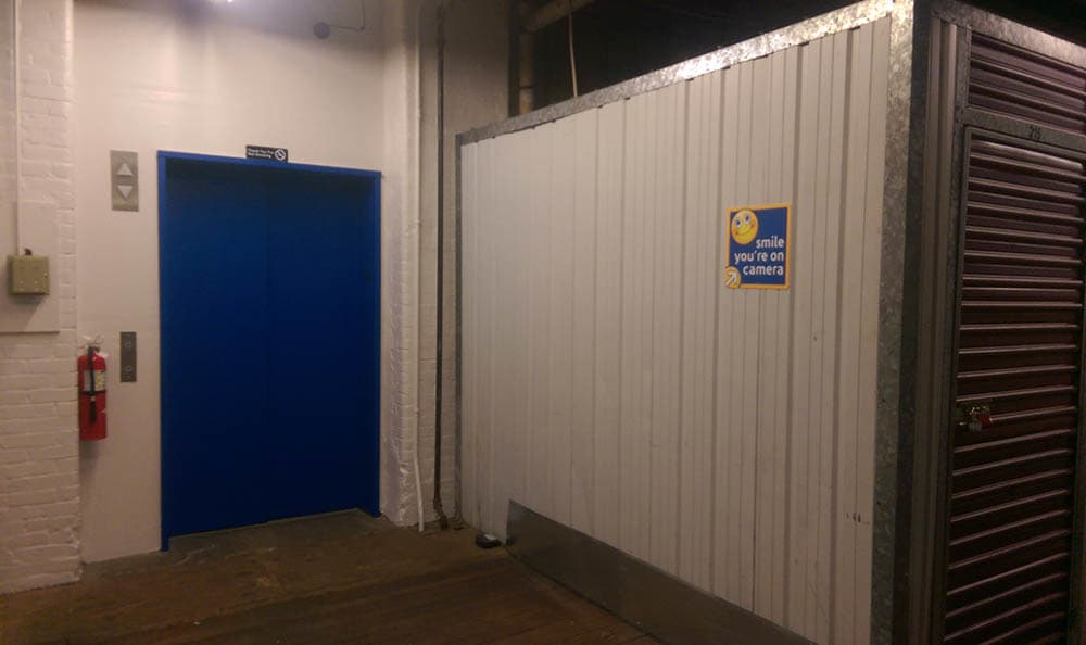 Elevator Access Storage Units At Compass Self Storage In Providence, RI