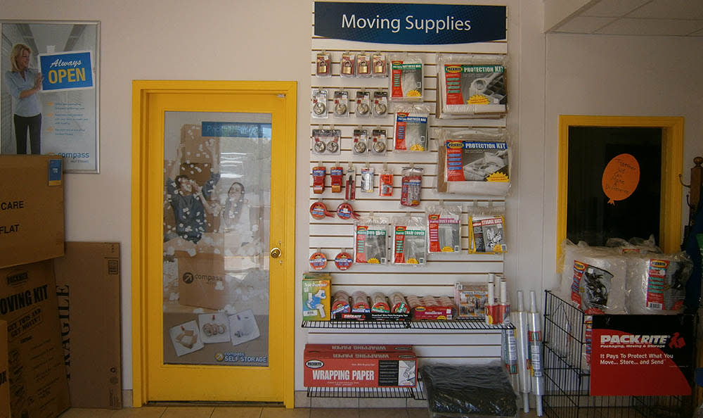 Packing And Moving Supplies at Compass Self Storage in Neptune, NJ