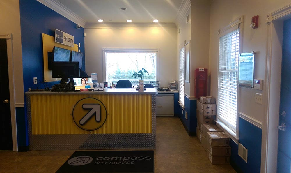 Leasing Office at Compass Self Storage in Asbury, NJ