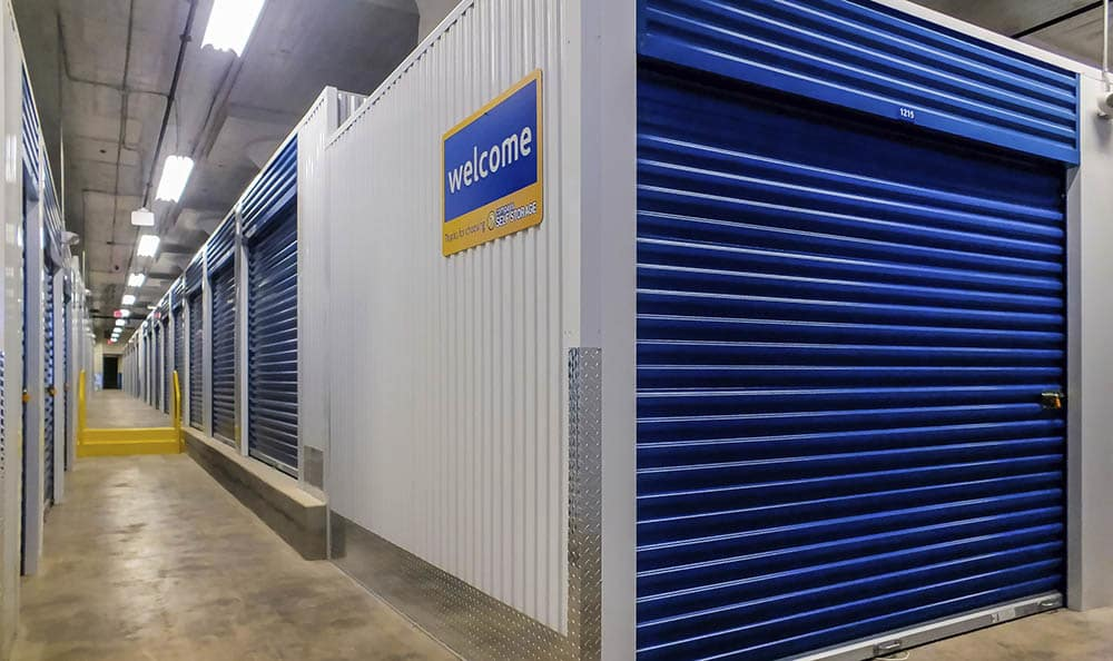 Storage features offered at Compass Self Storage in Cleveland