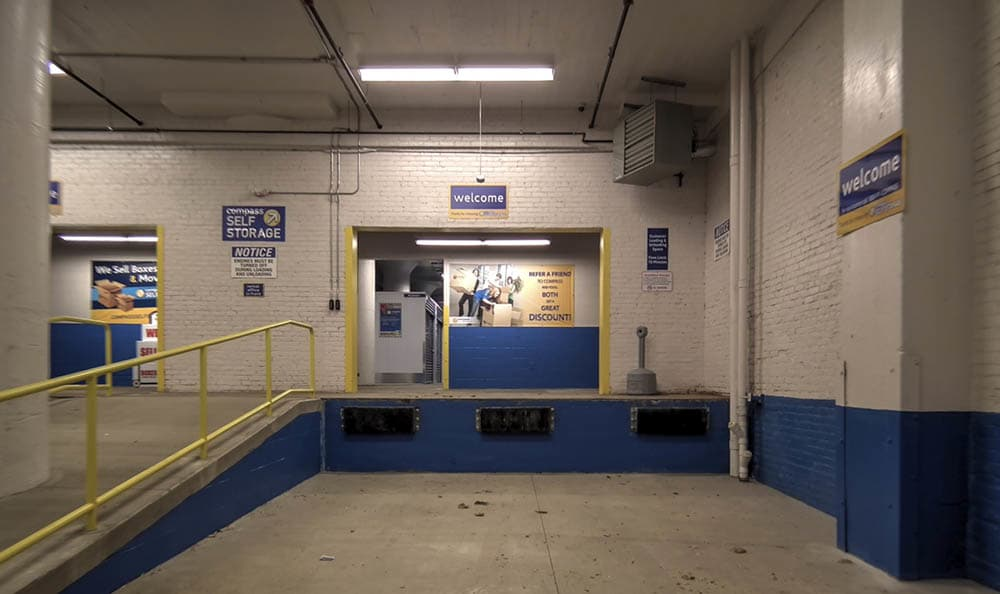Interior Loading Bay at Compass Self Storage in Cleveland, OH