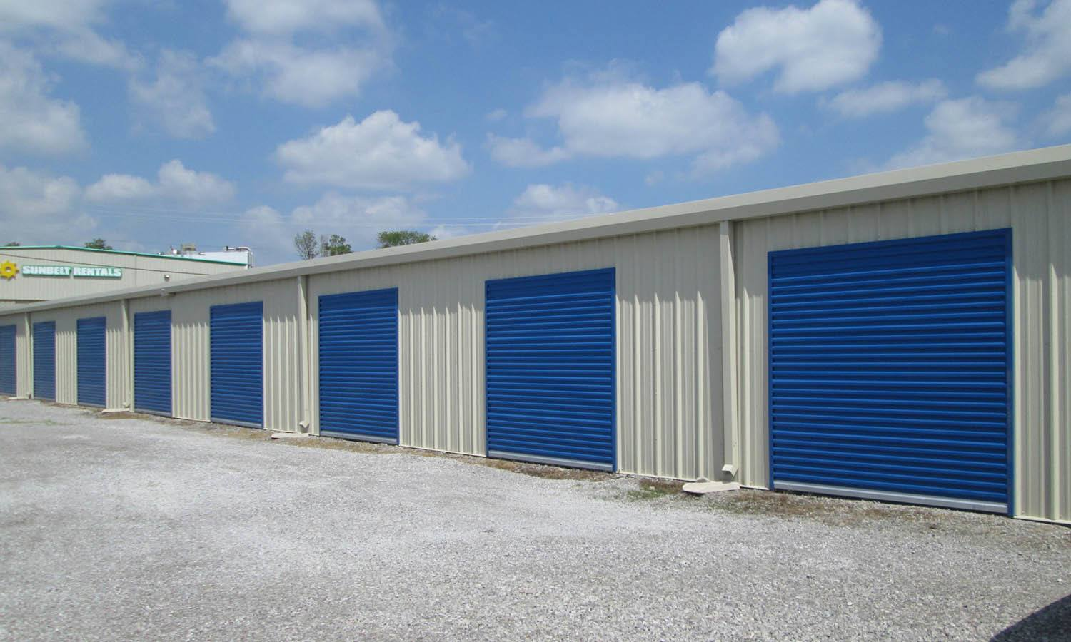 Exterior Of Clean Storage Units at Compass Self Storage in Florence