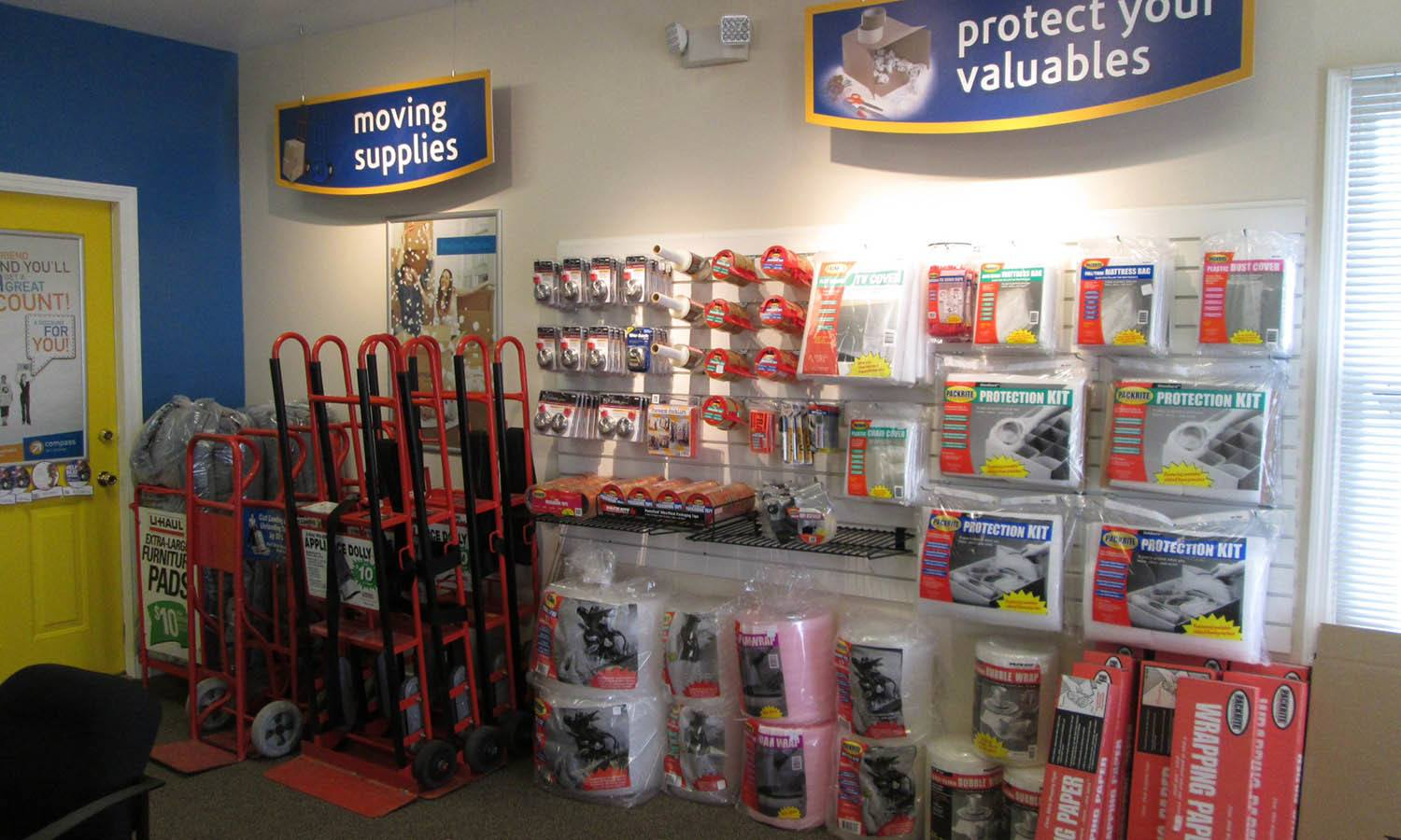 Moving Supplies at Compass Self Storage in Florence
