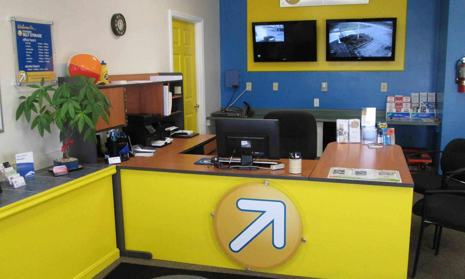 Storage Unit Office at Compass Self Storage in Florence