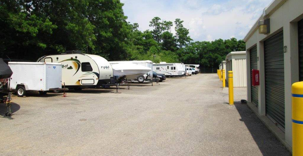 Boat and RV Parking at Compass Self Storage in Hebron