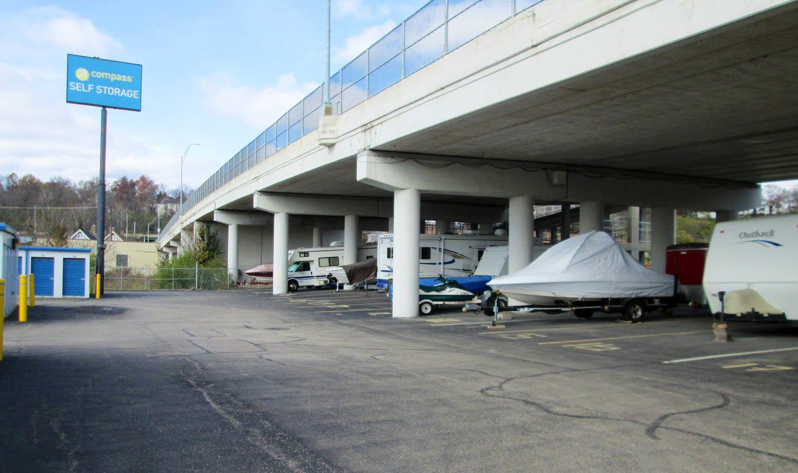 Boat Parking at Compass Self Storage in Cincinnati, OH