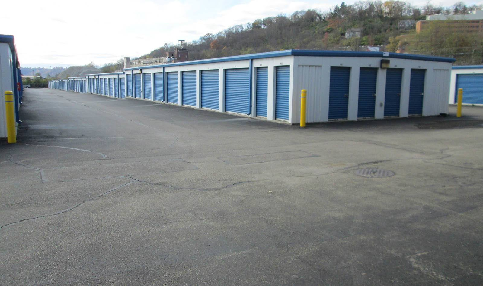 Exterior Of Storage Units at Compass Self Storage in Cincinnati, OH