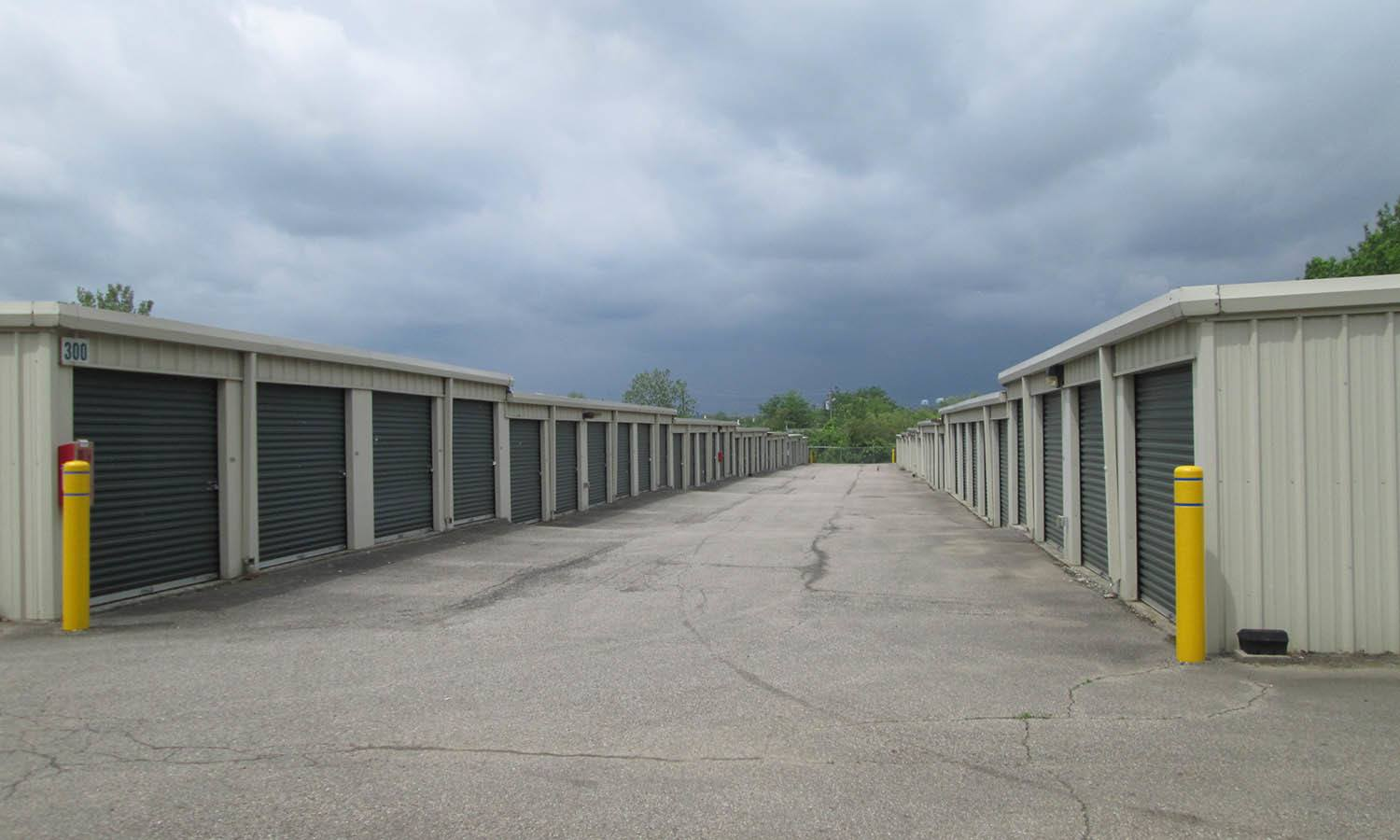 Storage Units at Compass Self Storage in Hamilton