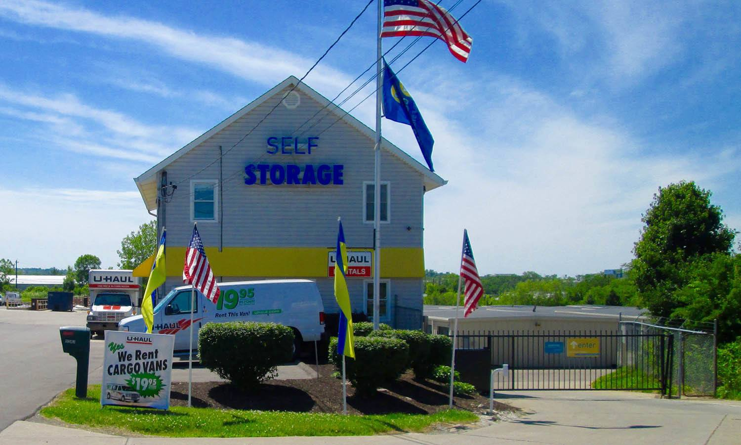 Welcome To Compass Self Storage in Hamilton, OH