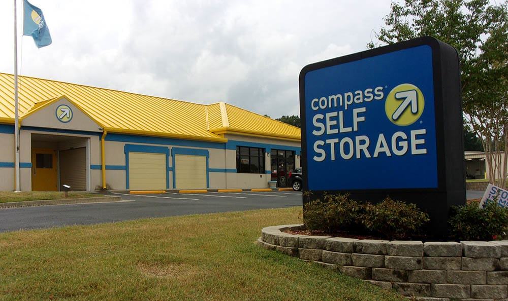 Exterior Of Storage Unit Facility at Compass Self Storage in Smyrna, GA