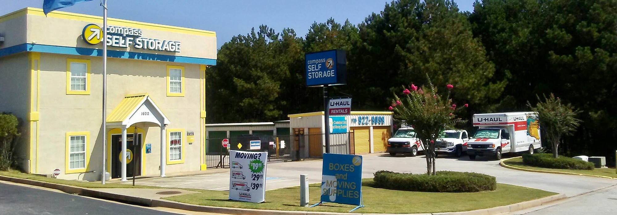 Self storage in Conyers GA