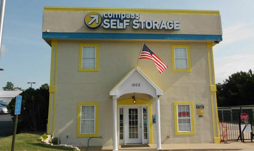 Exterior Of Self Storage Facility at Compass Self Storage in Conyers, GA