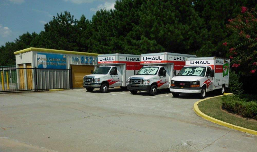 Moving Truck Rental at Compass Self Storage in Conyers, GA