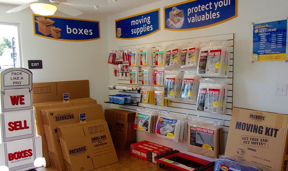 Boxes And Moving Supplies at Compass Self Storage in Acworth, GA