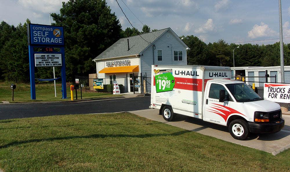 Moving Truck Rental at Compass Self Storage in Acworth, GA