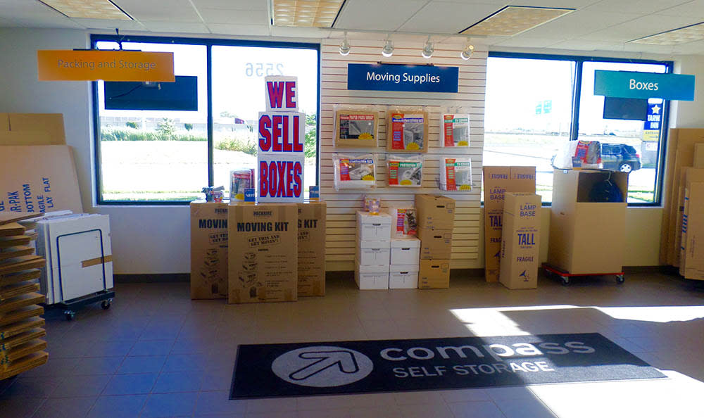 Packing And Moving Supplies at Compass Self Storage in Lansing, IL