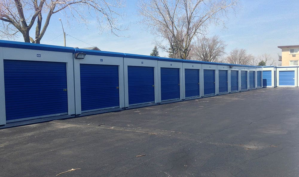 Drive Up Storage Units at Compass Self Storage in River Grove, IL