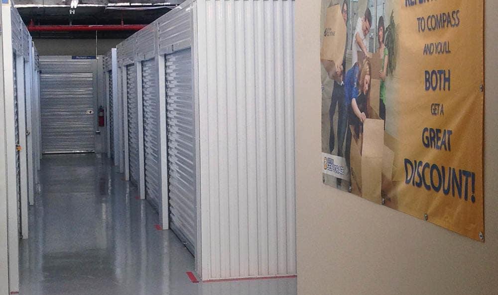 Interior Storage Units at Compass Self Storage in River Grove, IL