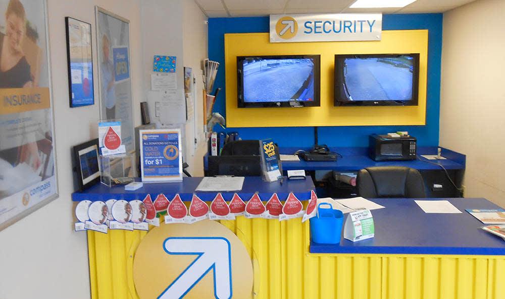 Rental Office Desk at Compass Self Storage in Nesbit, MS