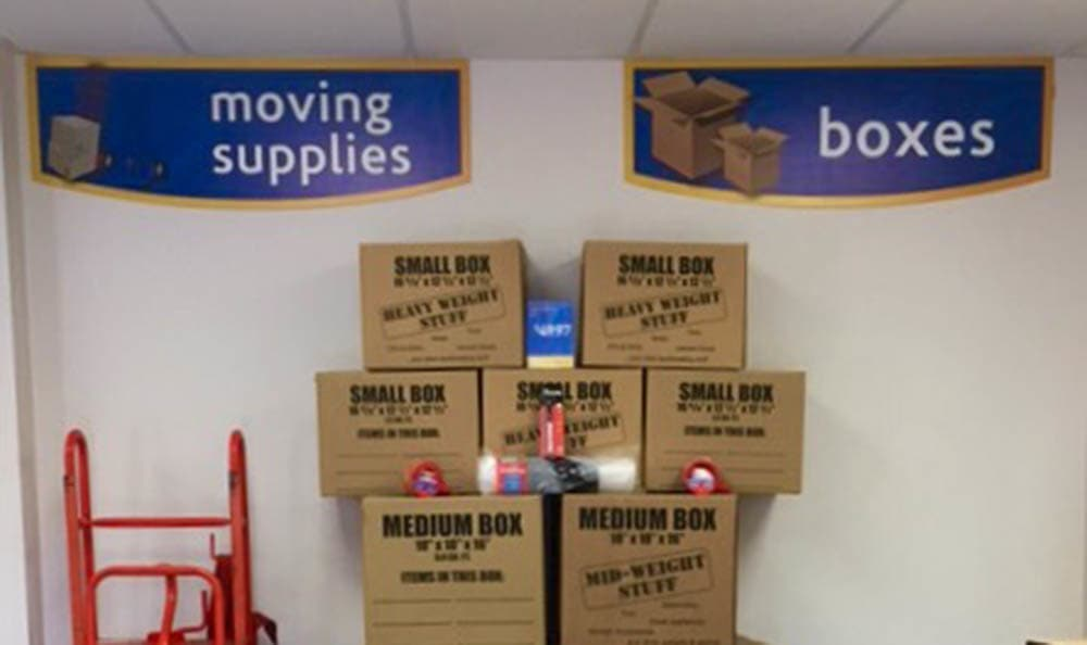 Boxes And Moving Supplies at Compass Self Storage in Bartlett, TN