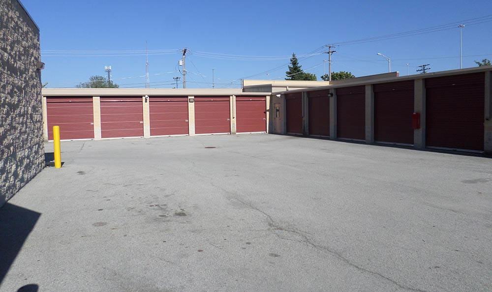 Drive Up Storage Units at Compass Self Storage in Bartlett, TN