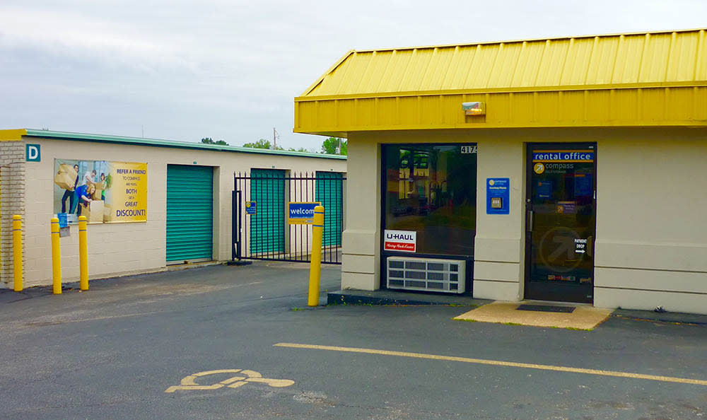 Drive Up Storage Units at Compass Self Storage in Memphis, TN